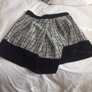 Banana Republic A-Symmetrical patterned skirt!